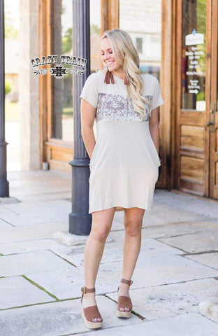 RILEY RANCH POCKET DRESS  **PRE-ORDER**
