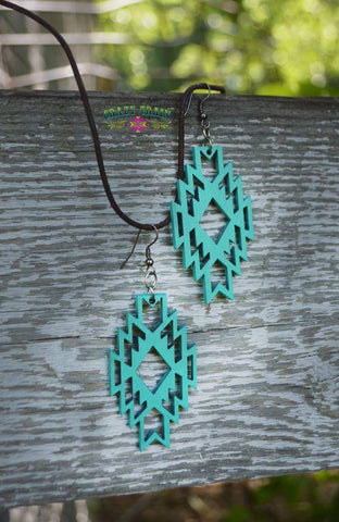 Amarillo Aztec Earrings