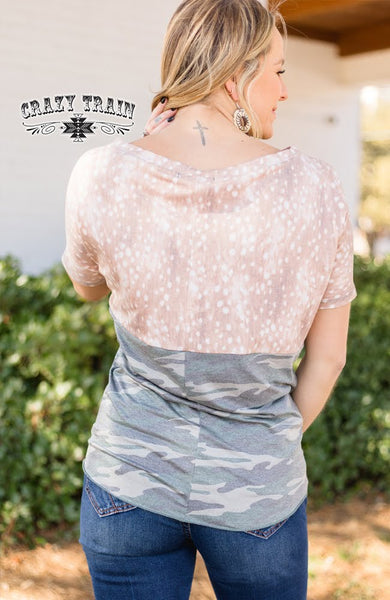 PRE-ORDER FAWNTASTIC KNOT TOP