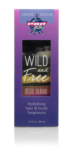 Wild and Free Hydrating Hair & Body Fragrance, 3.4 oz - PBR Mystic Meadows