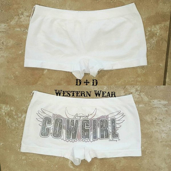 "Original ""Cowgirl"" Boy Shorts"