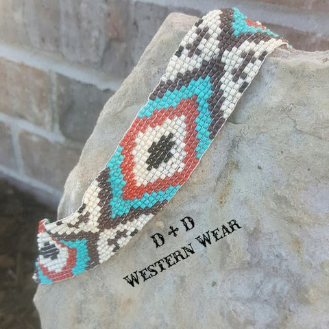 Diamond Aztec Headband