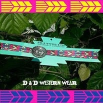 Concho Chief Headband Double Band