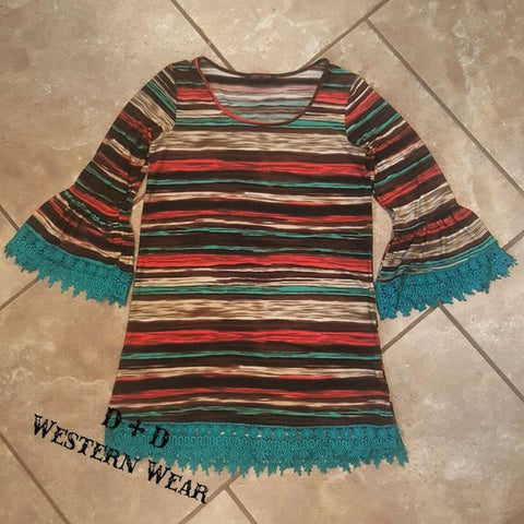 Southwest Sunset Tunic