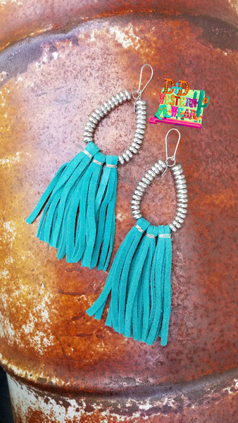 TURQ ** RIO GRANDE EARRINGS