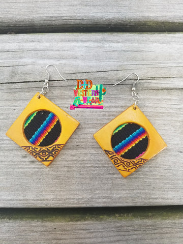 Serape Soul Earrings Diamond