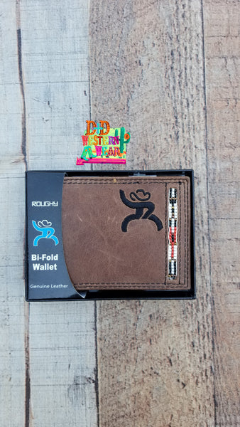 ROUGHY SIGNATURE BIFOLD WALLET