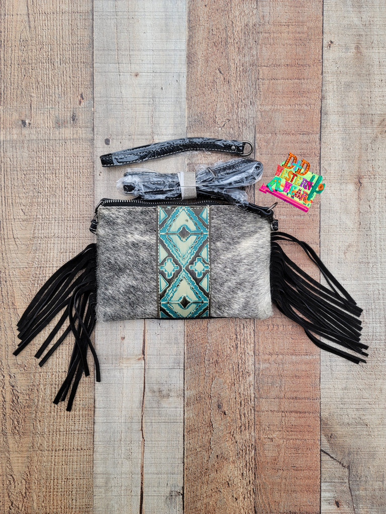 Arizona Aztec Handbag w/fringe