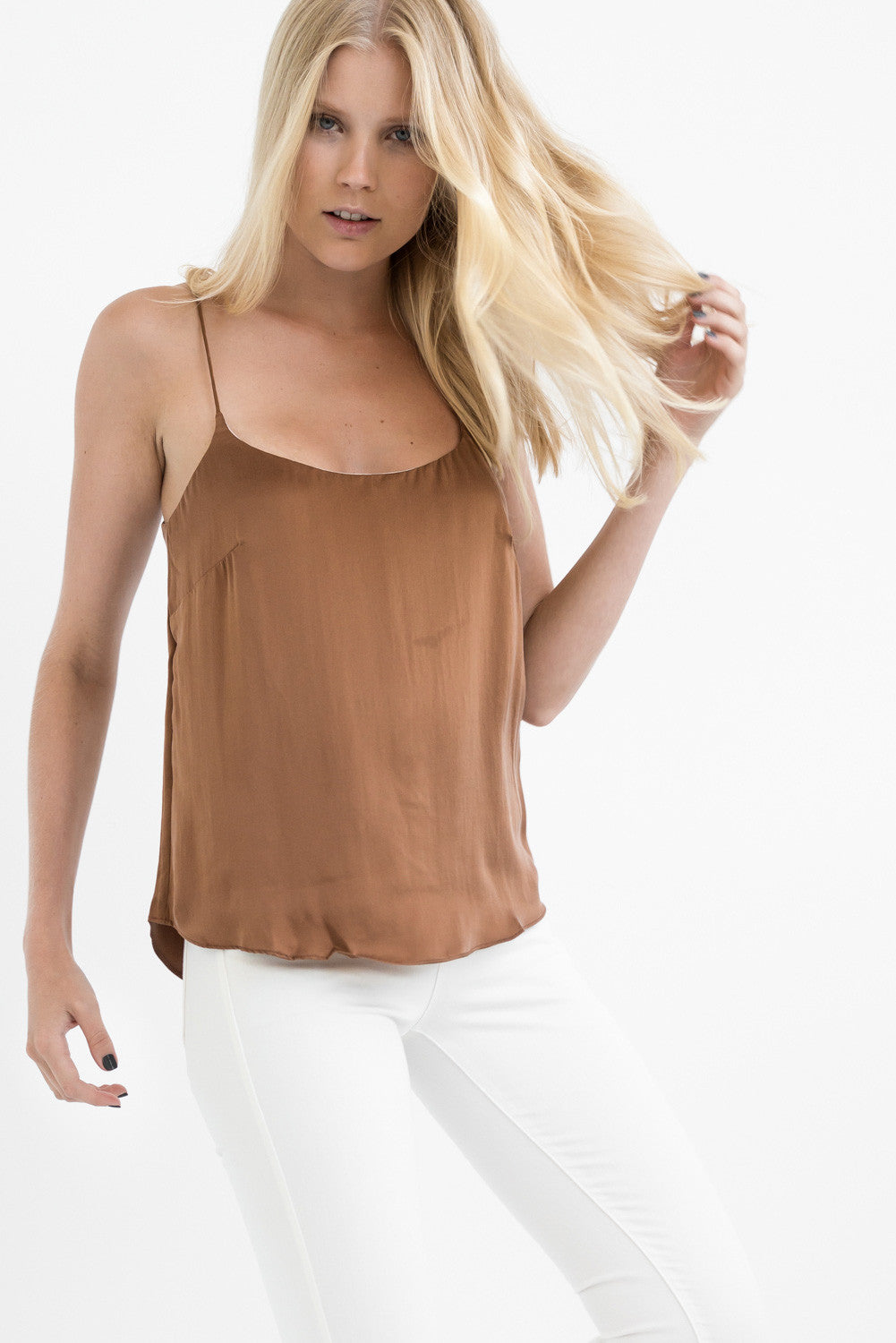 THE 2-in-1 CAMISOLE - BROWN LOVE