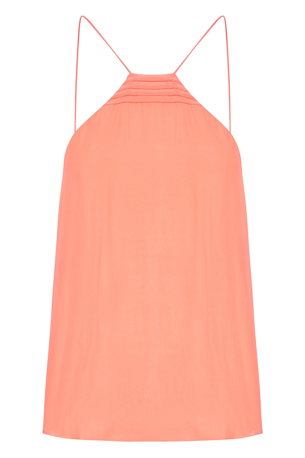 THE 2 in 1 CAMISOLE - CORAL