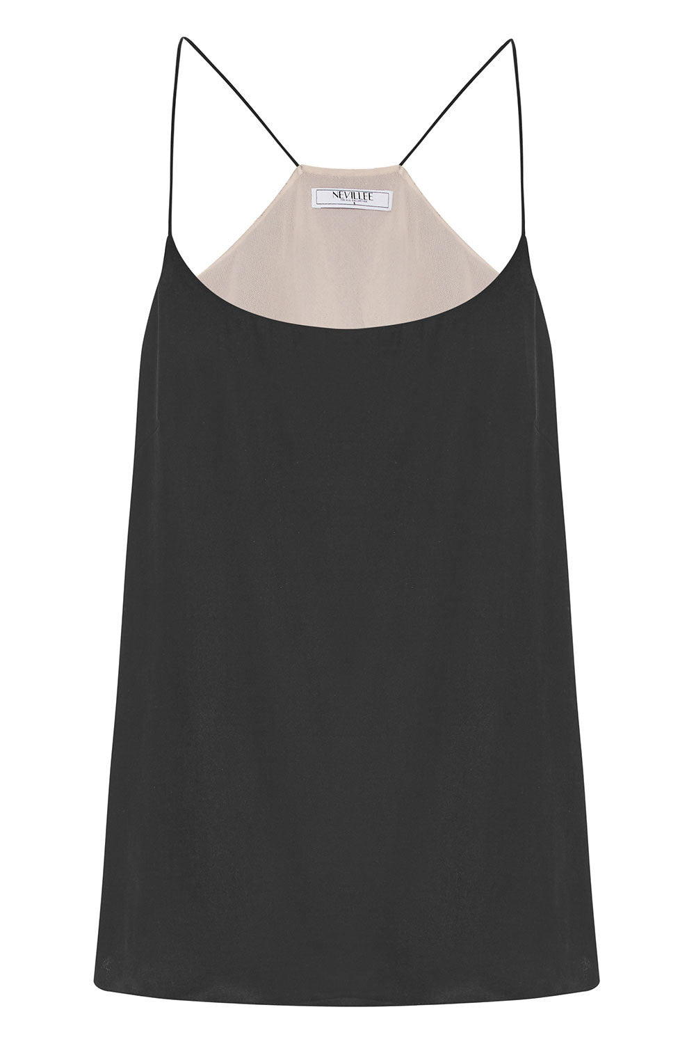 THE OFF DUTY CAMISOLE - BLACKSTONE