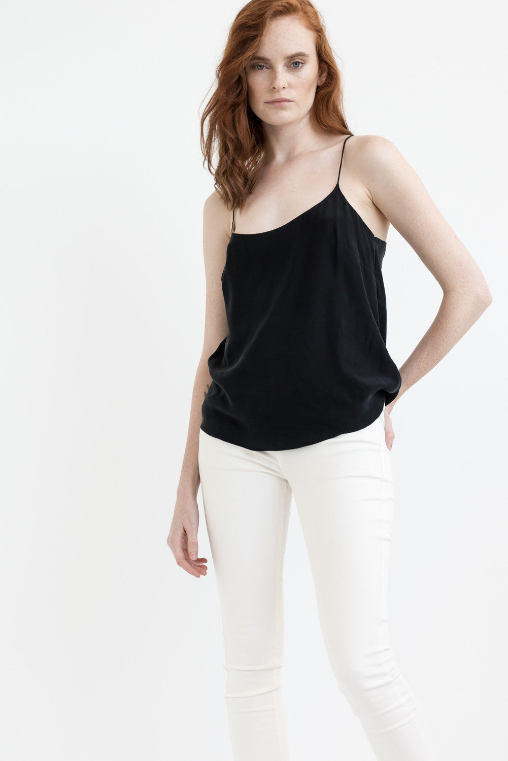 THE 2 in 1 CAMISOLE - BLACKSTONE