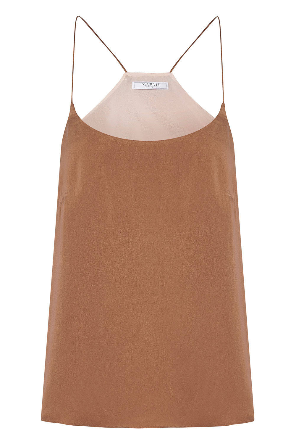 THE OFF DUTY CAMISOLE - BROWN LOVE