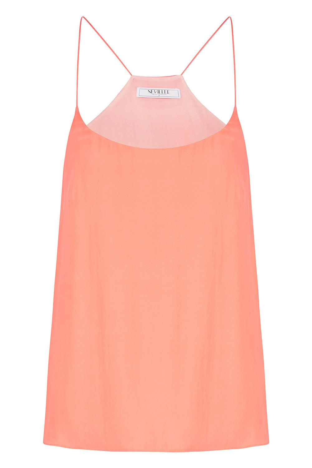 THE OFF DUTY CAMISOLE - CORAL
