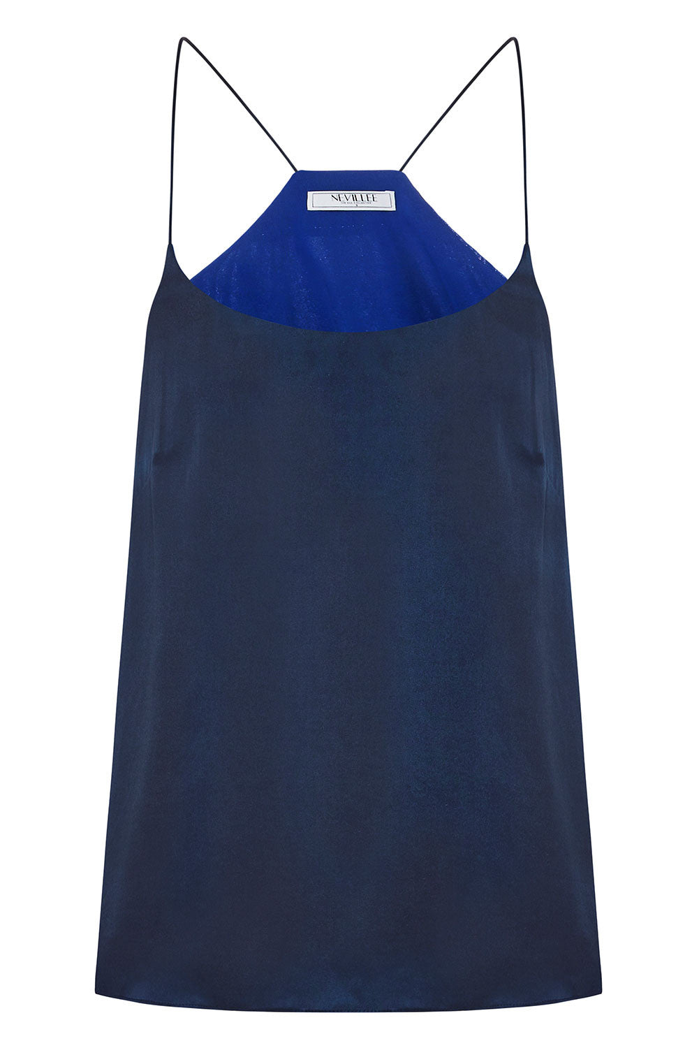 THE OFF DUTY CAMISOLE - MIDNIGHT BLUE