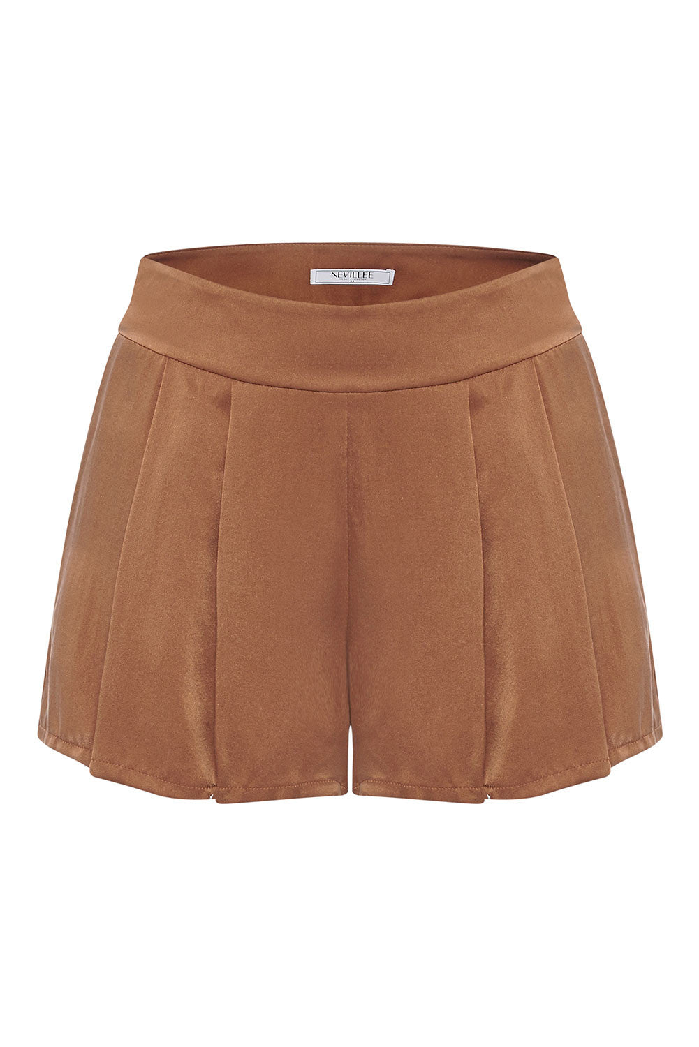 SILK SHORTS - BROWN LOVE