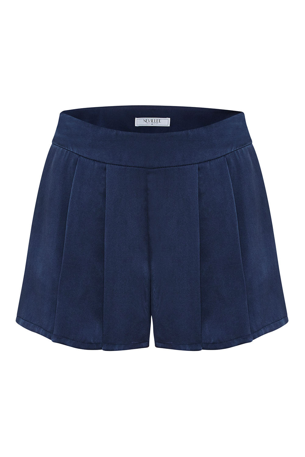 SILK SHORTS - MIDNIGHT BLUE