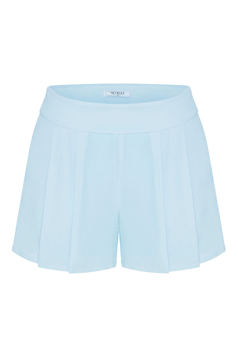 SILK SHORTS - SKY BLUE