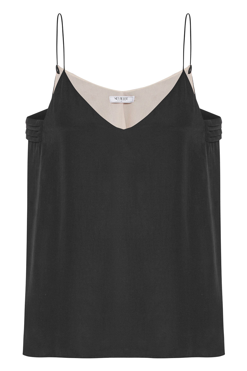 THE SLIP ON CAMISOLE - BLACKSTONE