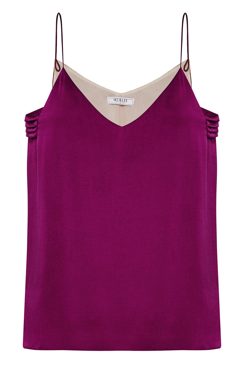 THE SLIP ON CAMISOLE - RED WINE