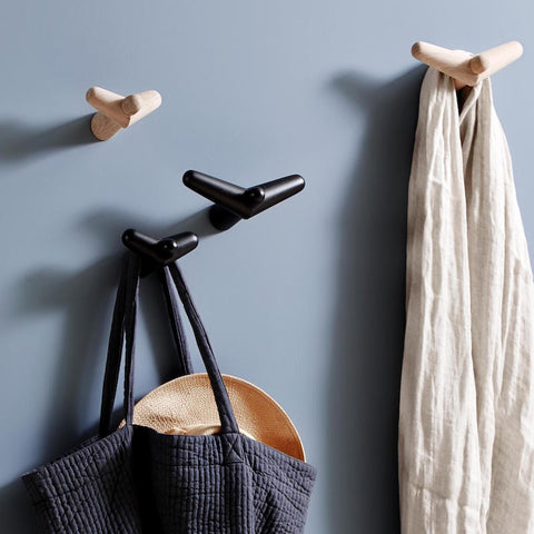 Capricho, Designer Furniture, Lighting & Home Decor & Accessories, WOUD Tail Wing Hooks styled