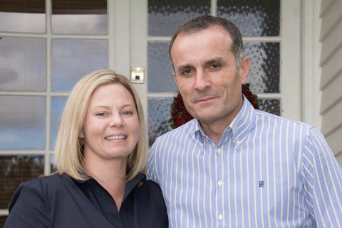 Team Capricho, photo of owners Fiona and Javier