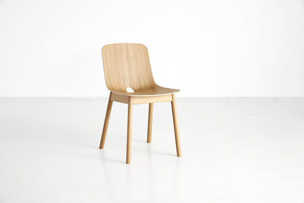 Capricho, Mono Dining Chair in Oak by WOUD of Denmark