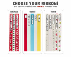 Choice of Ribbons for Button-its Chocolate Buttons Gifts