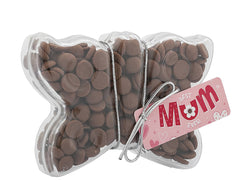 Plastic butterfly shape filled with chocolate buttons, Gift - Image 4