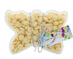 Plastic butterfly shape filled with chocolate buttons, Gift - Image 5
