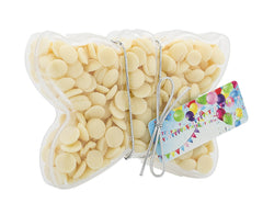 Plastic butterfly shape filled with chocolate buttons, Gift - Image 6