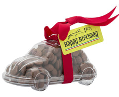 Plastic car shape filled with chocolate buttons, Gift - Image 2