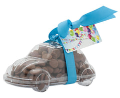 Plastic car shape filled with chocolate buttons, Gift - Image 6