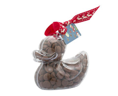 Plastic duck shape filled with chocolate buttons, Gift - Image 2