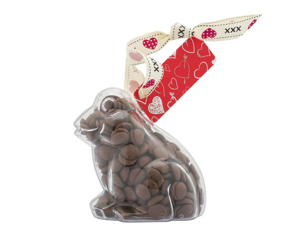 Plastic frog shape filled with chocolate buttons, Gift - Image 4