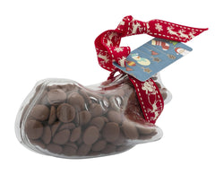 Plastic plane shape filled with chocolate buttons, Gift - Image 4