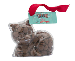 Plastic kitten shape filled with chocolate buttons, Gift - Image 2
