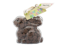 Plastic rabbit shape filled with chocolate buttons, Gift - Image 2