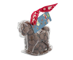 Plastic horse shape filled with chocolate buttons, Gift - Image 3