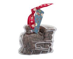 Plastic train shape filled with chocolate buttons, Gift - Image 5