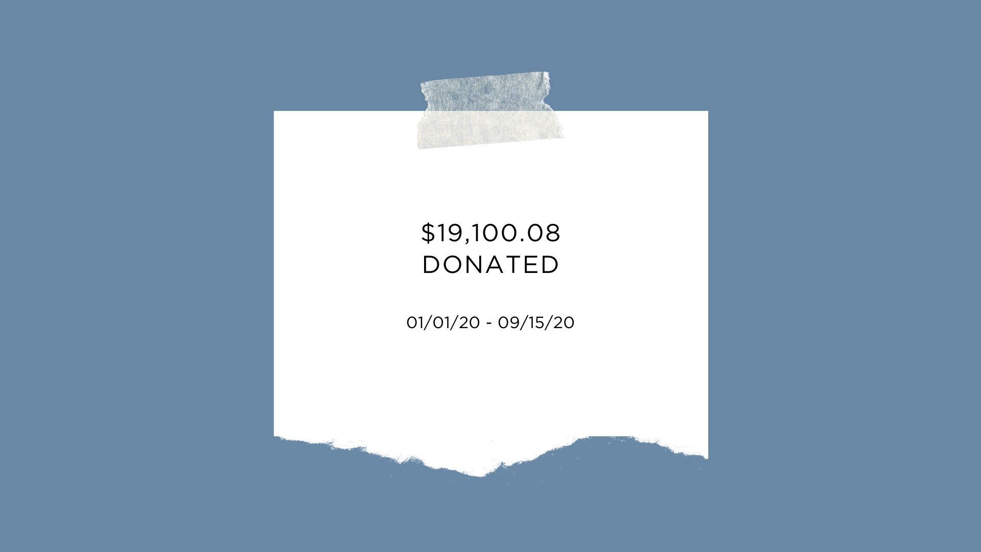 Slow North's donations