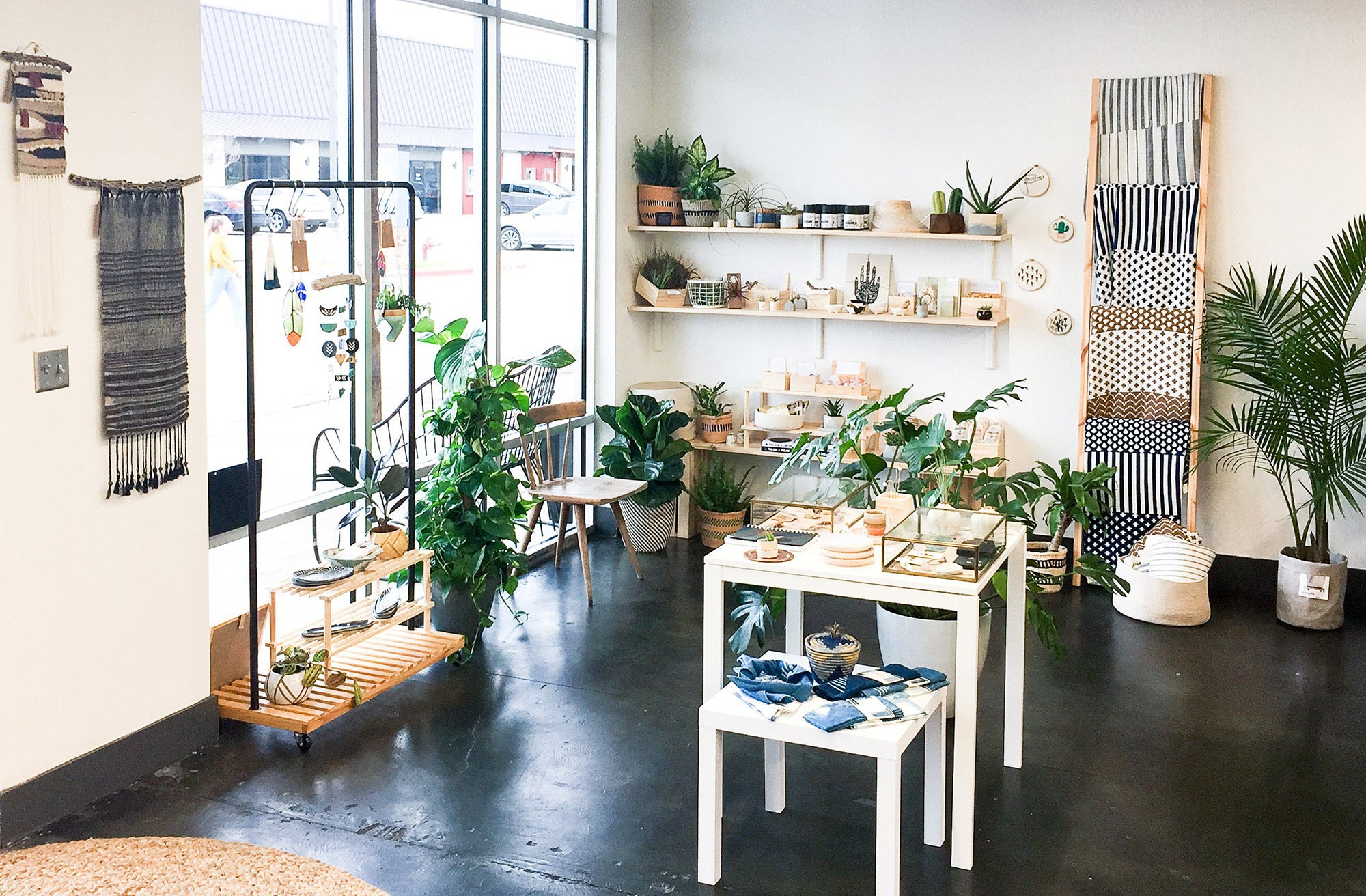 Another part of our flagship store in the Village shopping center off Anderson Lane in North-Central Austin. With events, workshops, hand-made gifts from makers around the country and world, and more.