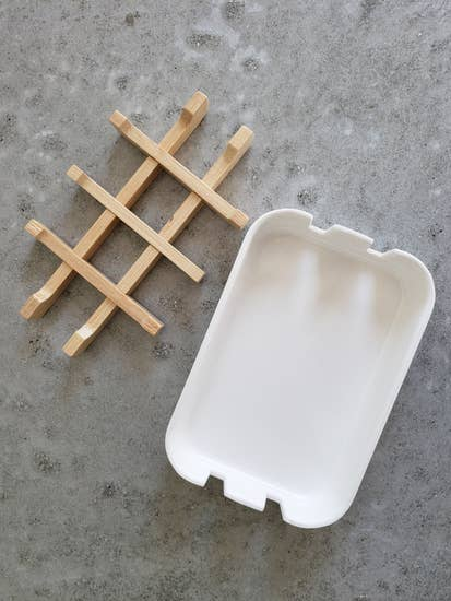 Compostable Soap Dish