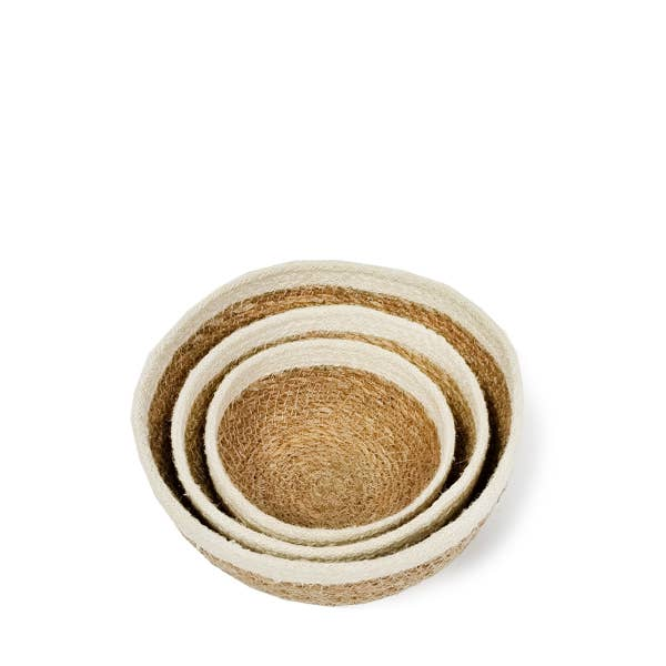 Savar Round Bowl - Set of 3