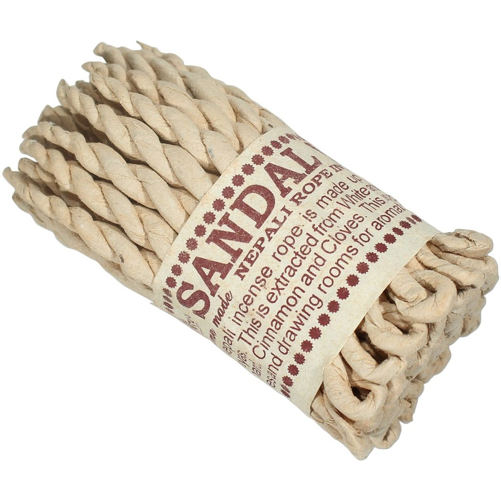 Nepali Sandalwood Rope Incense