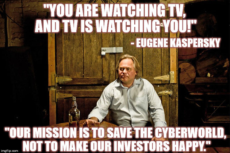 TV is Watching You - Kaspersky