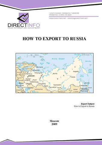How to Export to Russia