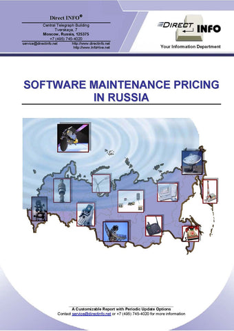 Software Maintenance Pricing In Russia