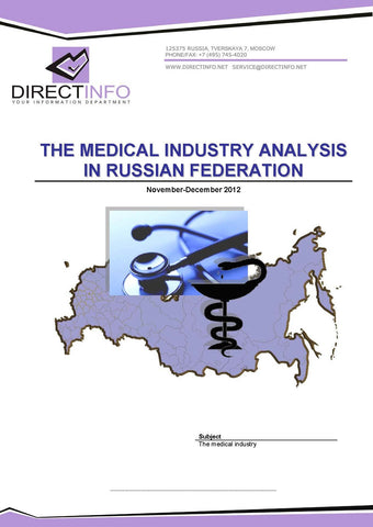 Russian Medical Services Industry Analysis