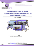 River Transport Logistics in Russia: Volga and Don Rivers